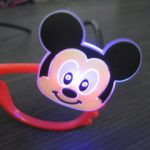 ディズニー光るワンポイントメガネ