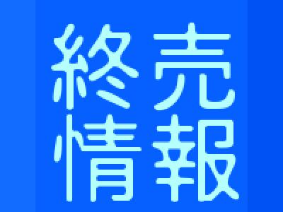 8/20 お店から(小物玩具終売のお知らせ)