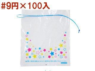 金魚袋(小・星柄)