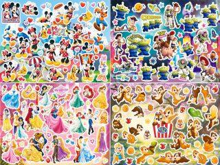 ディズニーステージシールセットA4サイズシール例