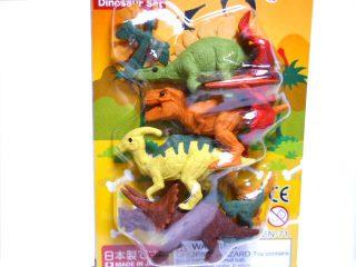 おもしろけしごむ恐竜セット