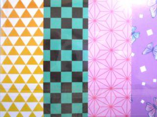 和柄カラフル折り紙(15枚入り)種類